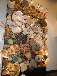The coral reef display.