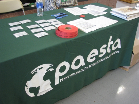 Welcome to the PAESTA check-in desk!  The conference theme: Mapping Our Way as Educators: Leaders In and Out of the Classroom.