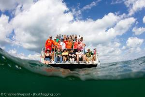 Group photo from our boat.