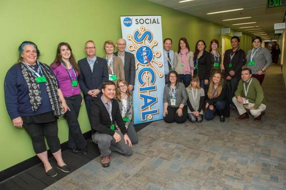 The 2013 AGU-NASA Social attendees