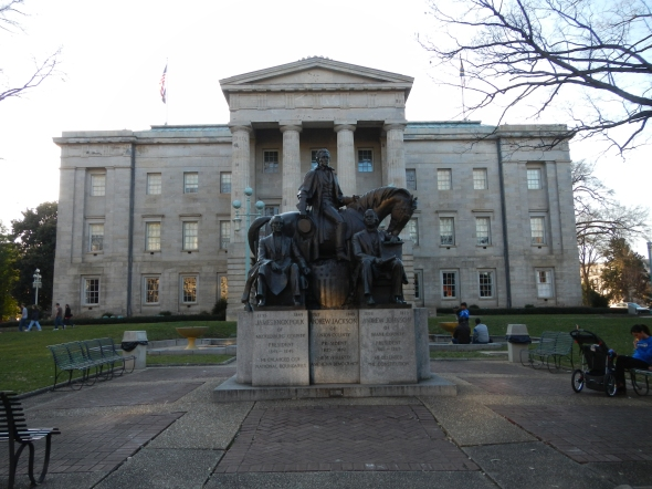 North Carolina State Capitol Building in Raleigh, NC