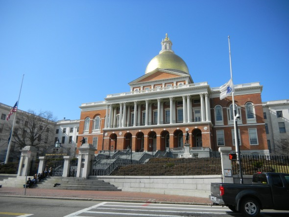 The Massachusetts State House!