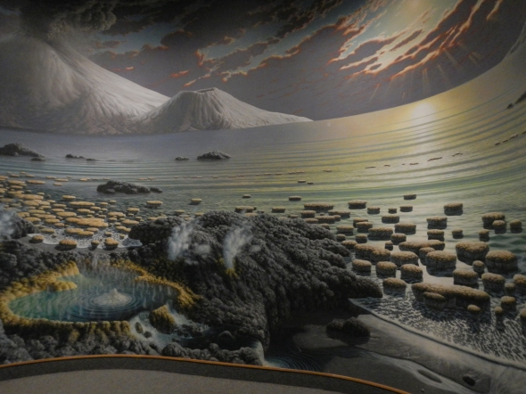 If the Smithsonian no longer wants this, I'm sure I can find a spot on my classroom wall for this beautiful Archean landscape!