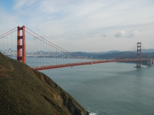 When you see this bridge, there's no doubt of your location - San Francisco!