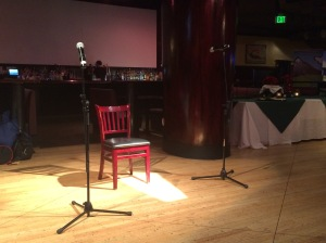An open mic... ready for Open Mic Night!