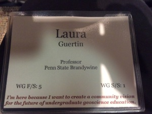 My name badge from the Summit!