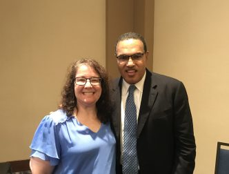 Photo with Dr. Freeman Hrabowski