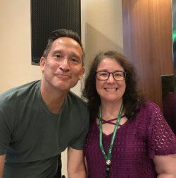 Photo with Dr. Jose Antonio Bowen