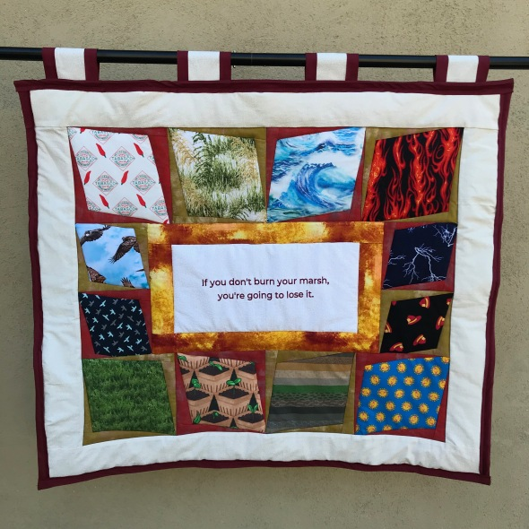 front of quilt, Local Wisdom
